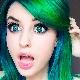 Зеленая краска для волос: особенности и секреты использования
