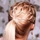 Прически на средние волосы с резинками в домашних условиях