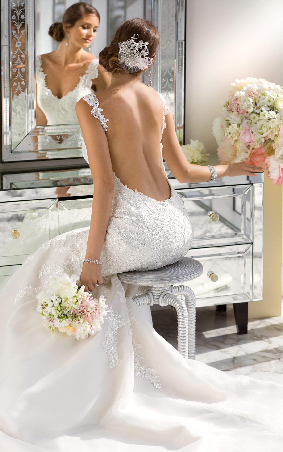 Сшить корсаж на свадебное платье