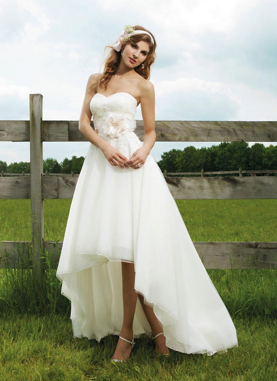 Летнее свадебные платья фото