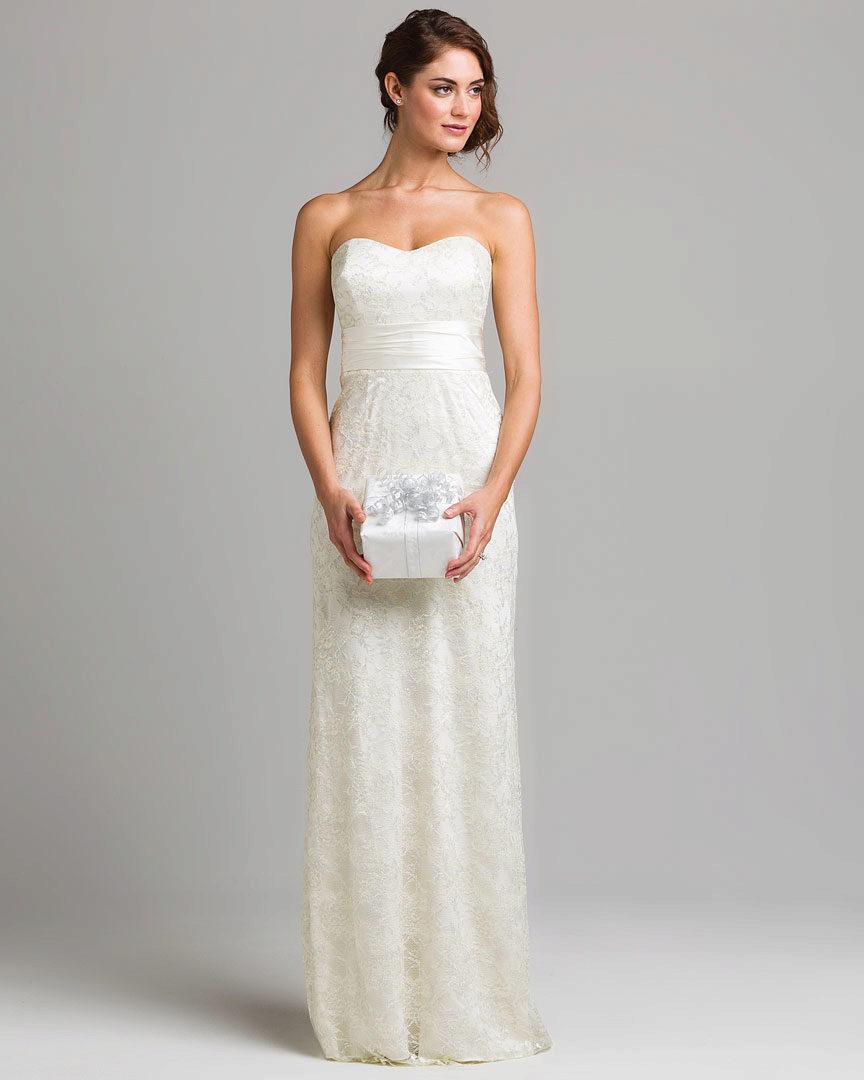 Платье свадебное самое простое