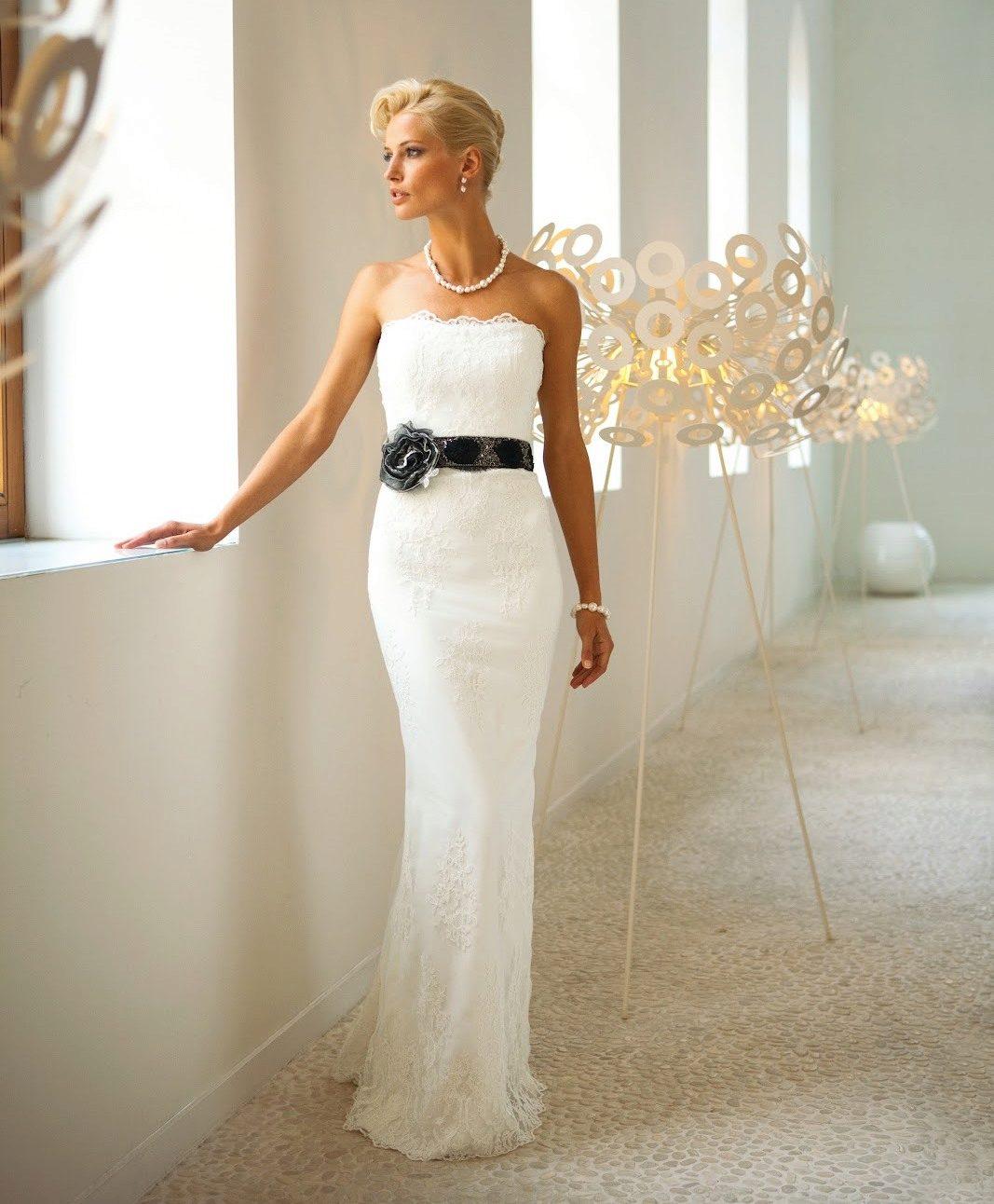 Платье свадебное футляр 150