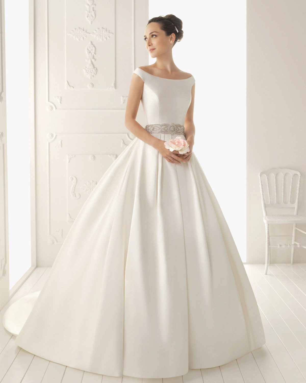 Свадебные платье из сатина