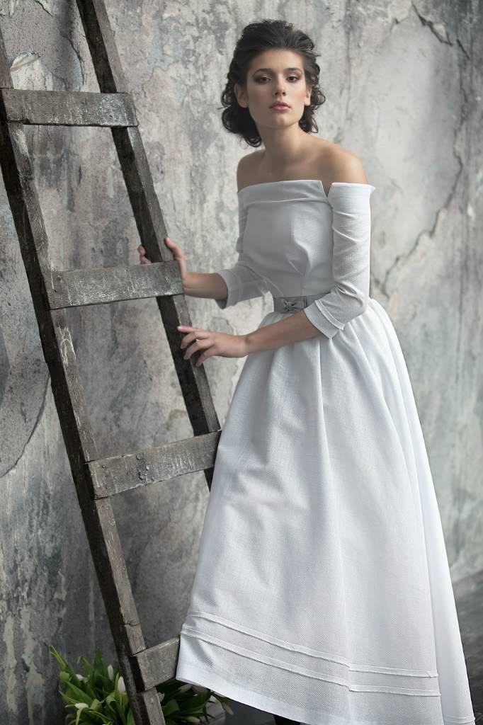 Как выбирать ткань на свадебное платье