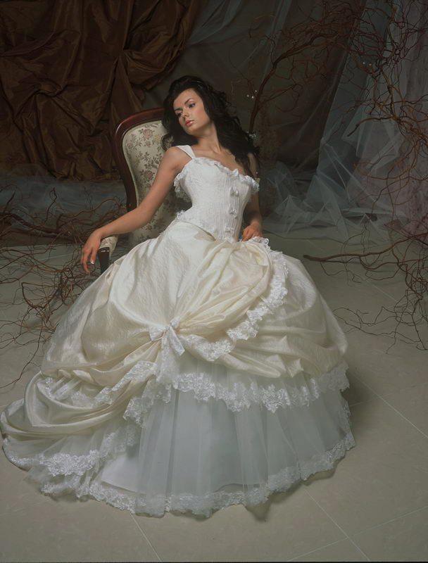 Wedding Saloon :: Свадебное платье папилио - Свадебные платья и