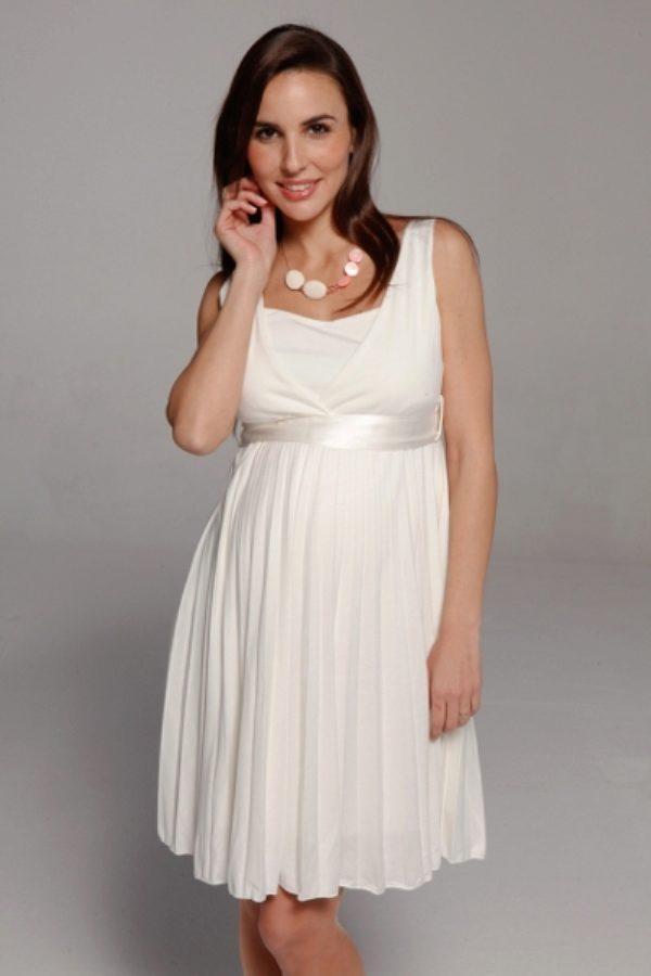 Свадебные платья для беременных короткие