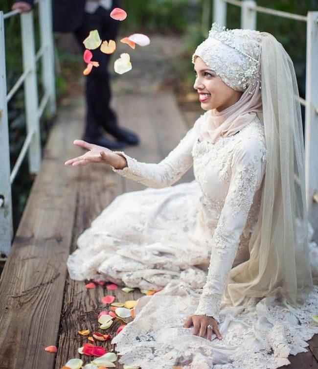 Мусульманское платье для невесты