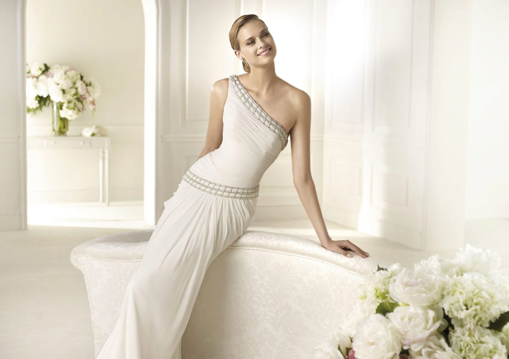 Свадебное платье для невысоких