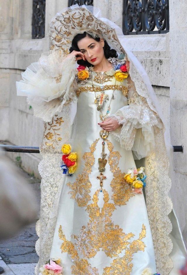 Национальное свадебное русское свадебное платье