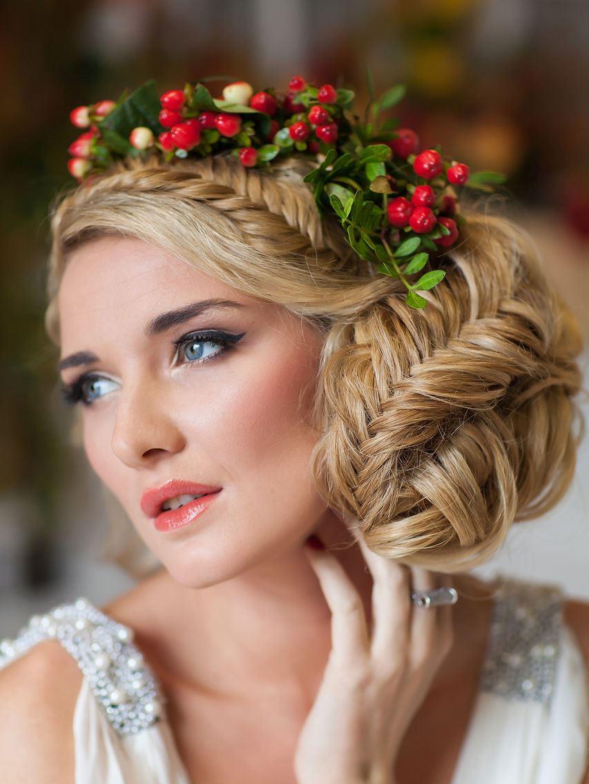 Красивые прически в украинском стиле
