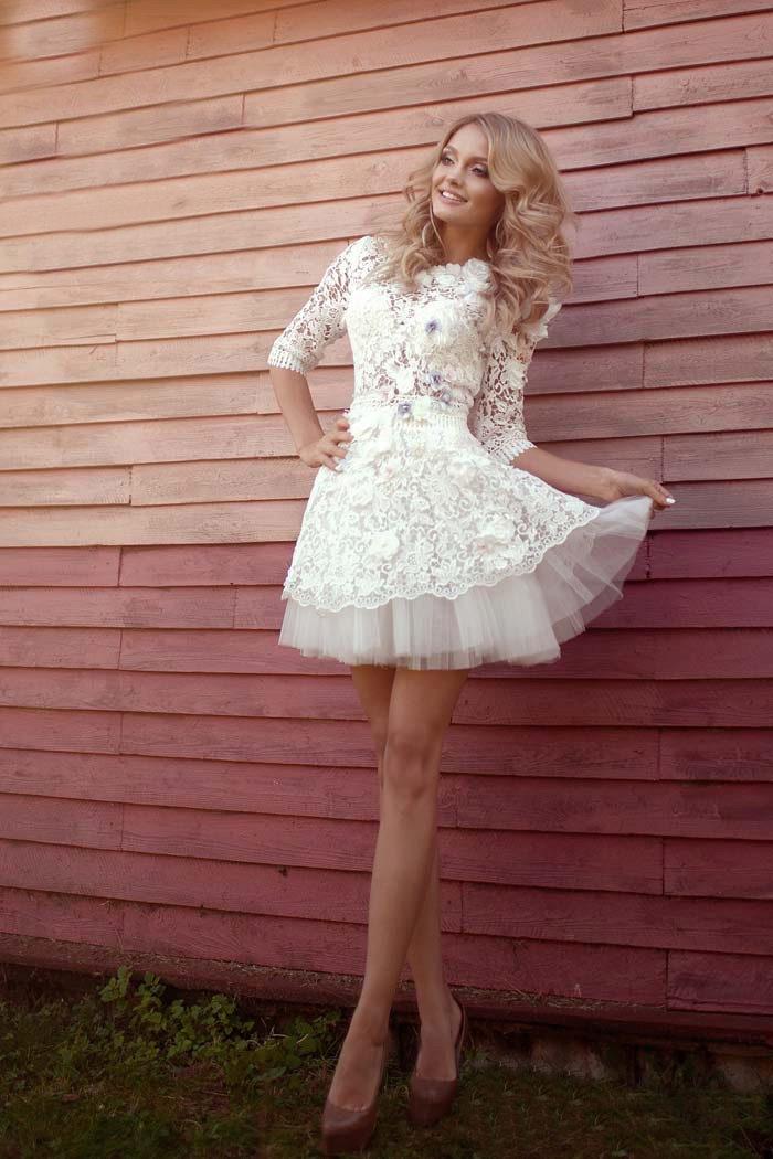 Фото девушек в платьях брюнеток