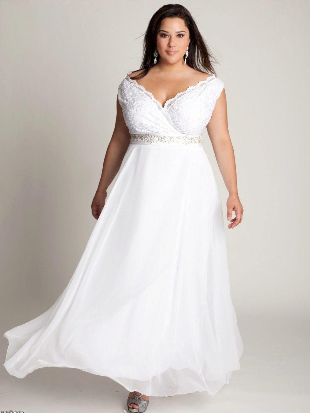 c4a5c33f958 Свадебные платья для полных девушек  выбор образа для полных невест ...