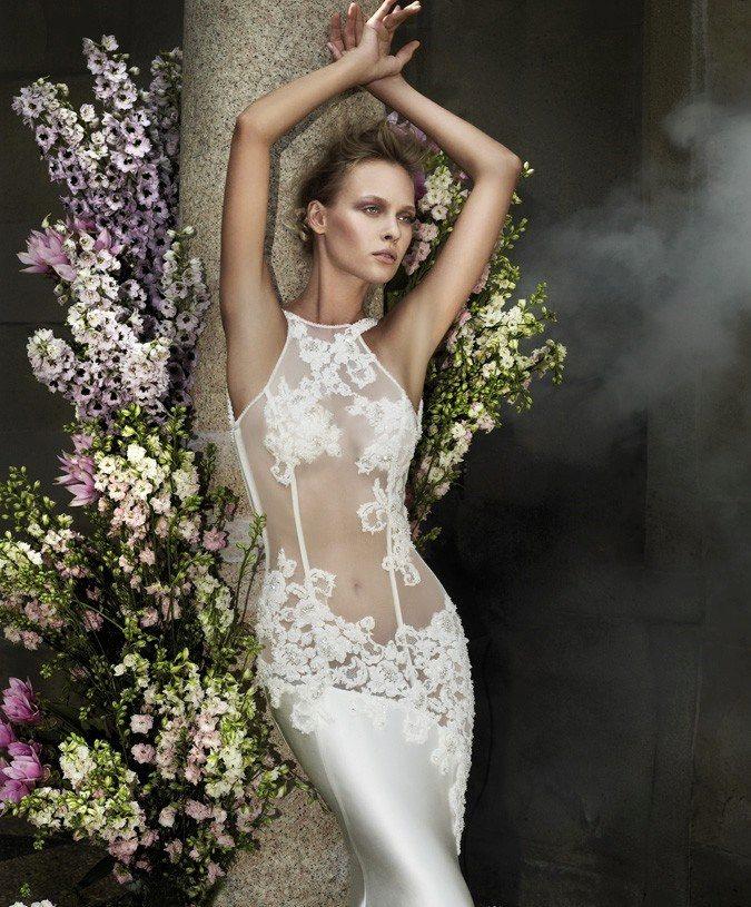 Фото прозрачные платья невесты