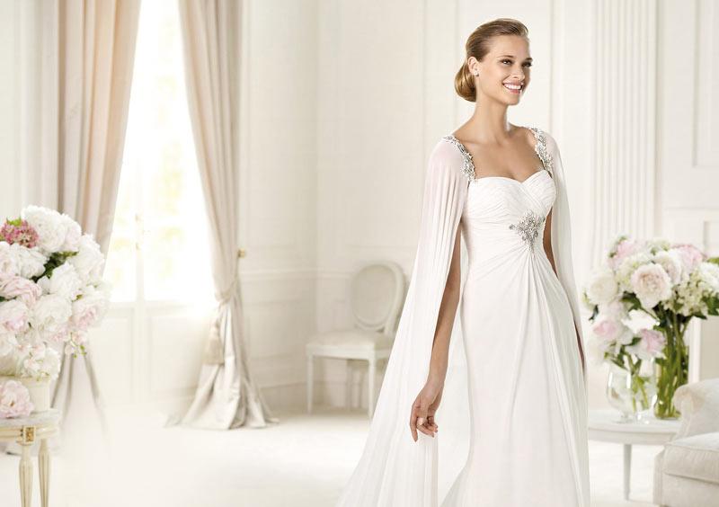 Шали к свадебному платью