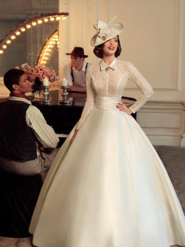 Свадебные  в стиле 40 х годов