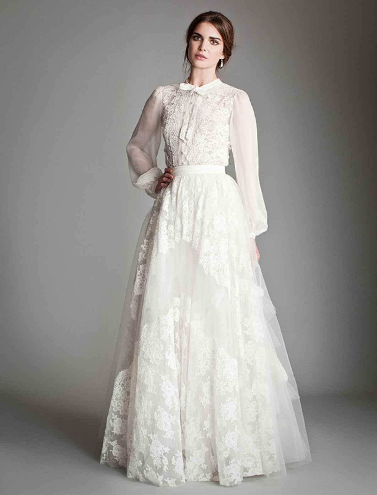 Фото свадебные платья ретро стиль фото