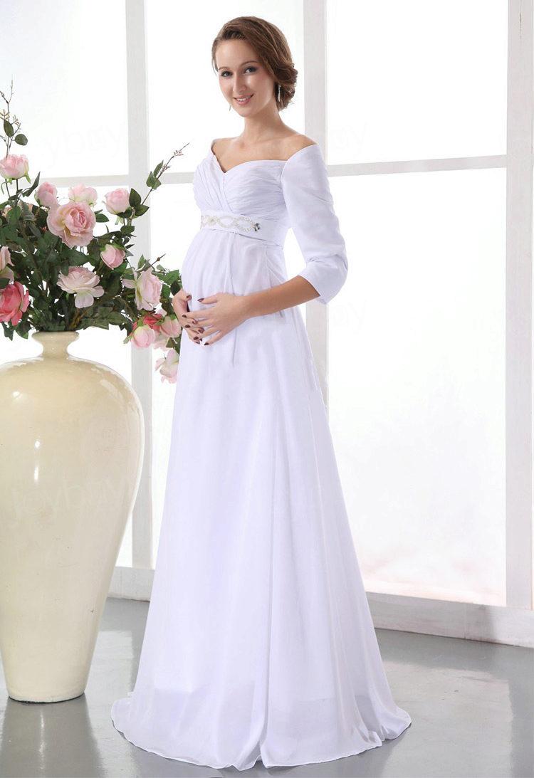 Платье закрытое для беременных 23