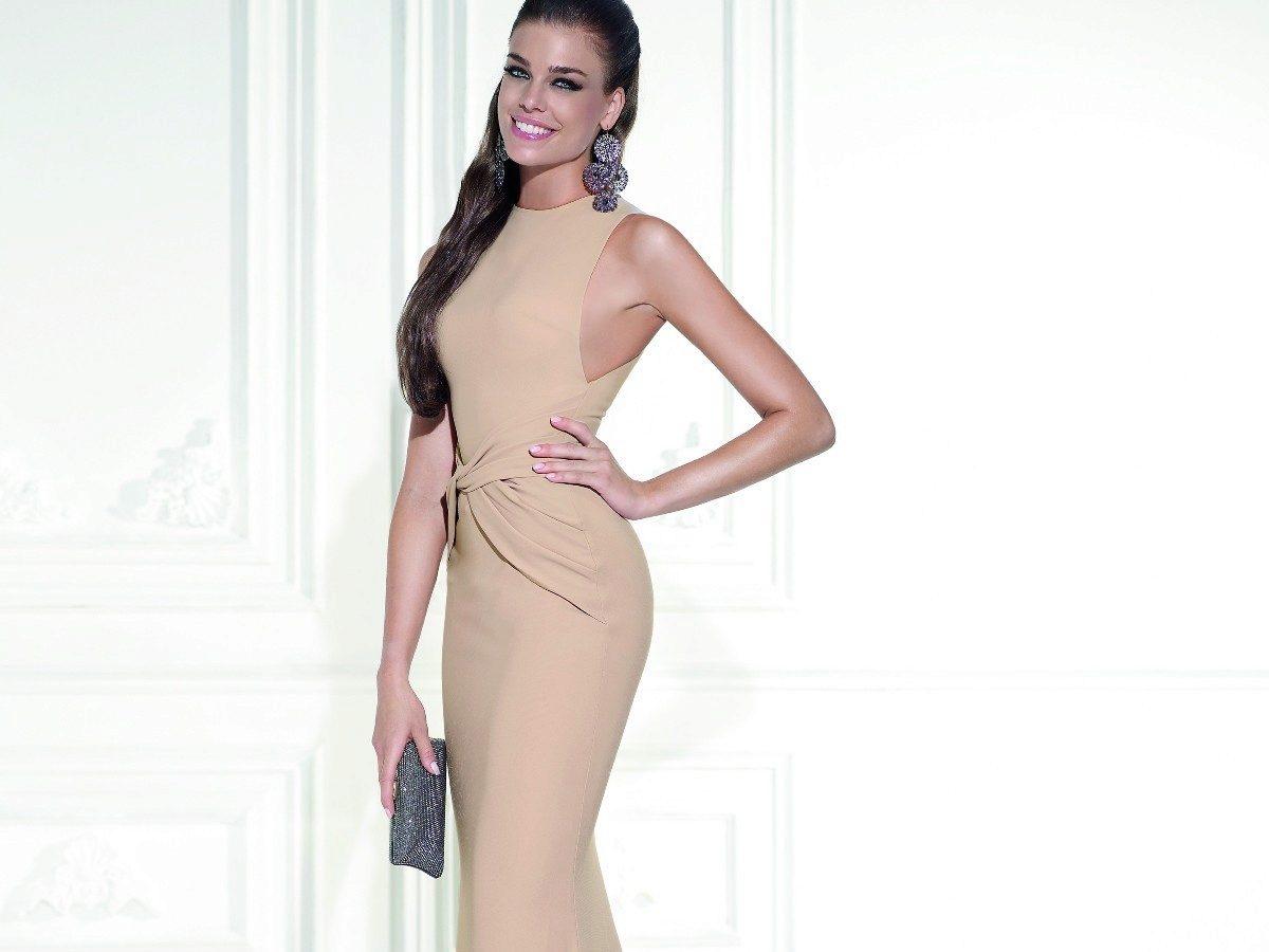 3e4e175905a Бежевые вечерние платья  фасоны