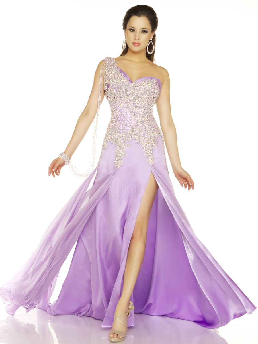 Платье нежное фиолетовое