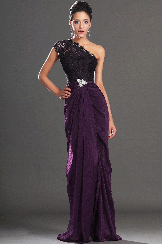 Платье на одно плечо вечернее фото