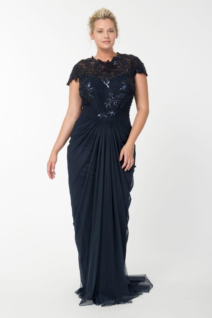 79c6e552127 Модные вечерние платья больших размеров  лучшие брендовые платья (41 ...