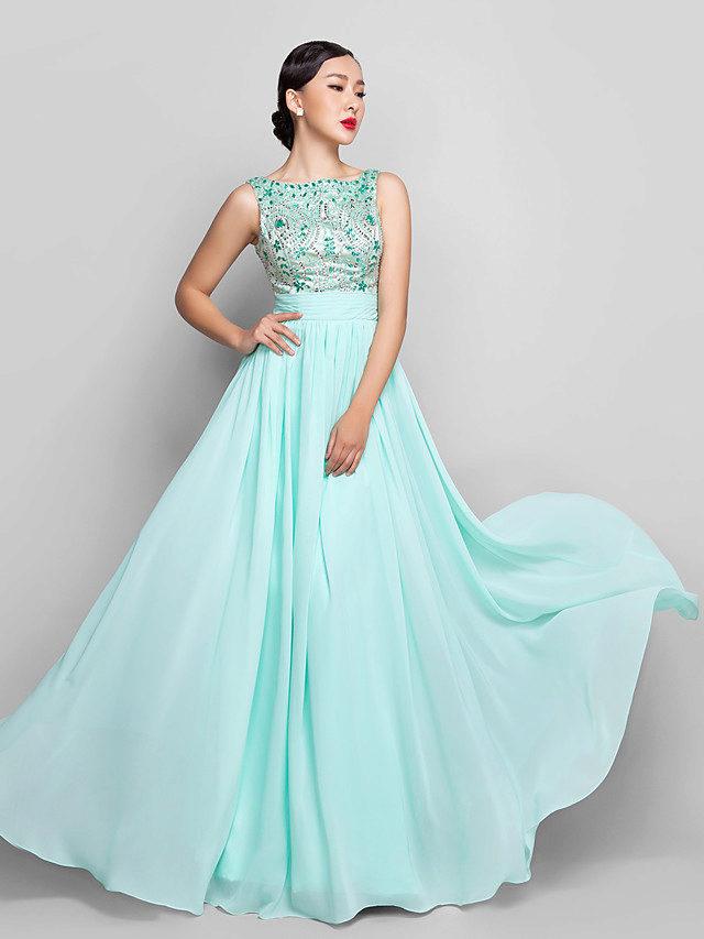 Платье мятного цвета фото