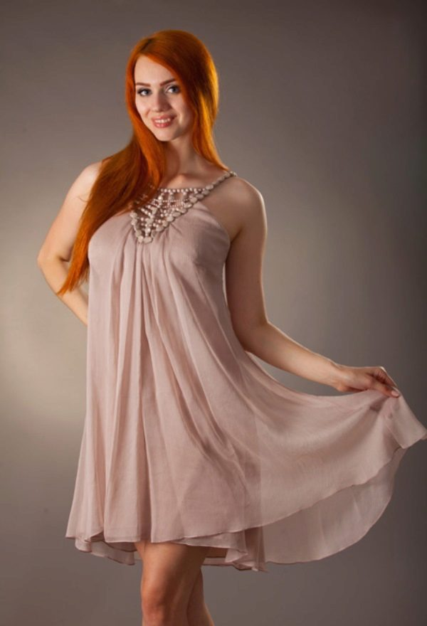 Короткие вечерние платья для беременных