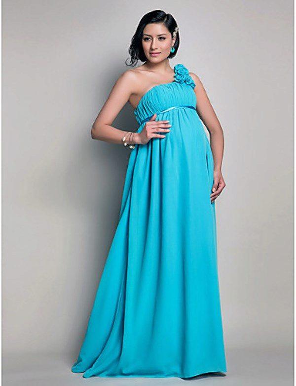 Вечерние платья для беременных в пол фото