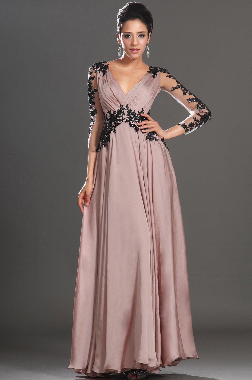 Вечерние платья для беременных на свадьбу  выбор фасонов и стилей ... 585c4f72892