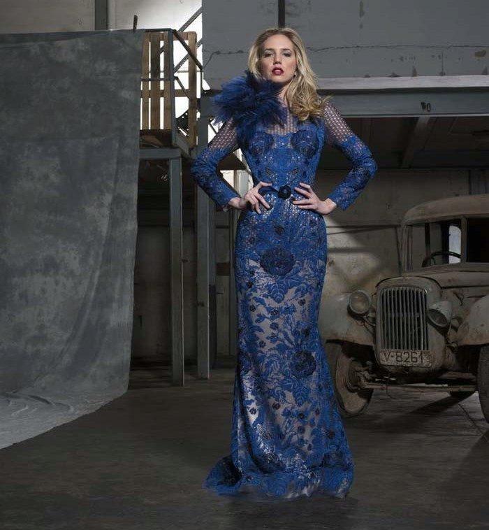 57b72cf9a029f56 Вечерние платья из гипюра: длинные и короткие гипюровые платья, с ...