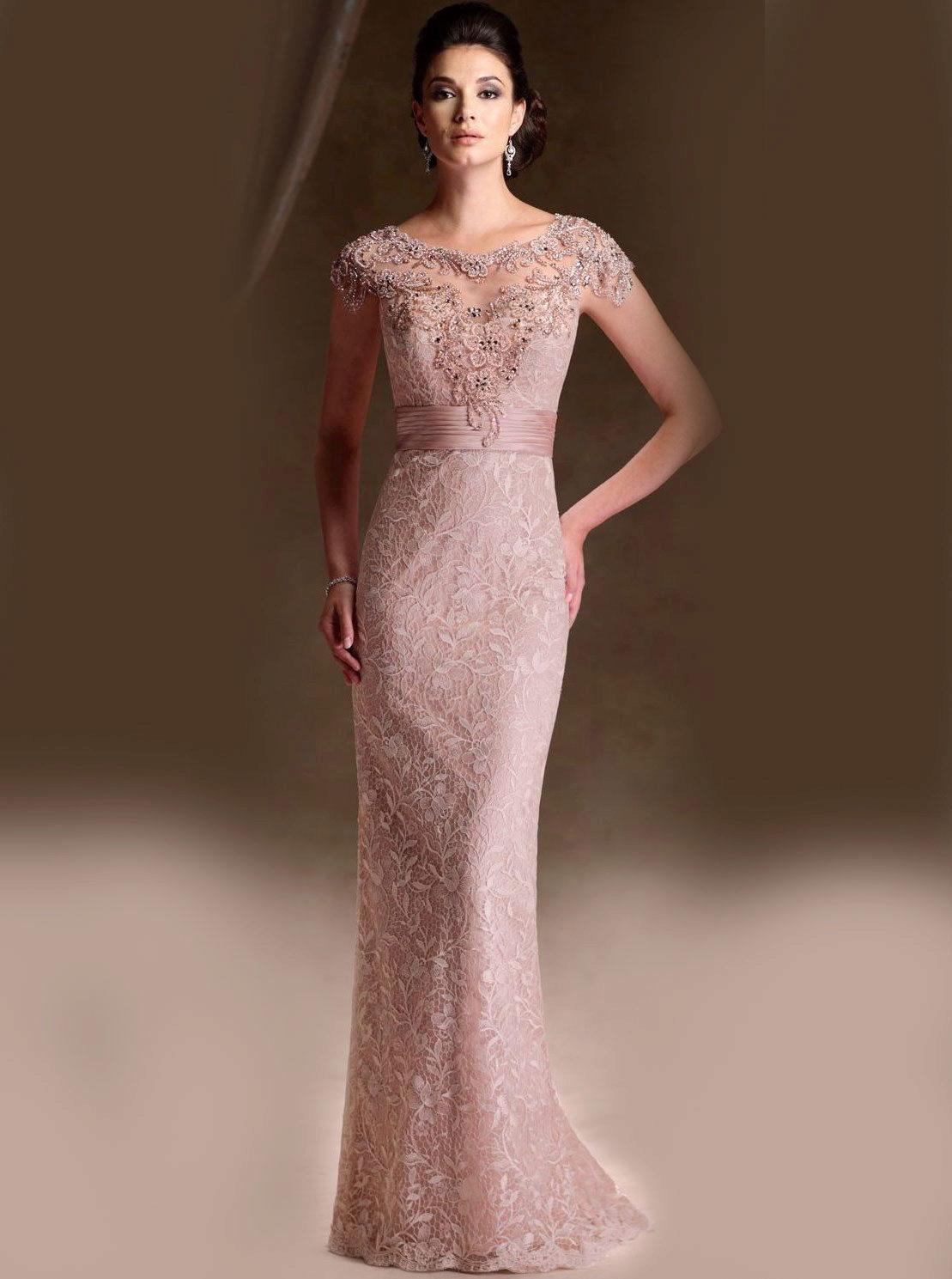 Платье для мамы жениха кружева