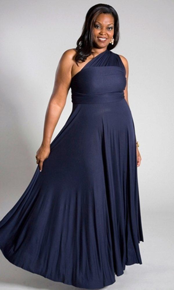 8b71bbf5644 Нарядные вечерние платья больших размеров для полных женщин (58 фото)
