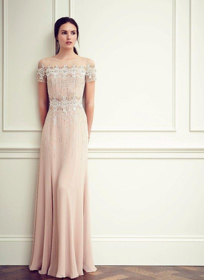Фото простое вечернее платье