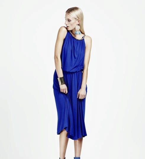 Синие вечерние платья: длинные в пол и ...: www.vplate.ru/vechernie/sinie