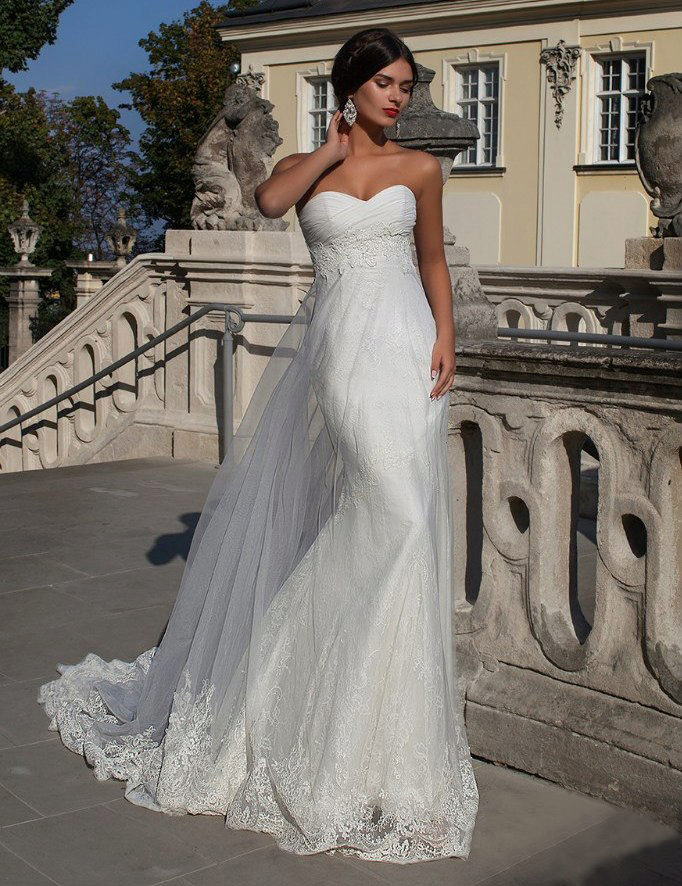Платье свадебное кристалл