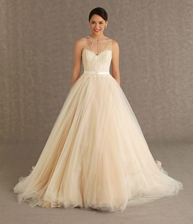 Купить свадебное платье айвори