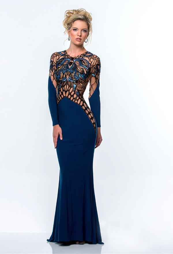 07a65a32c45 Экстравагантное вечернее платье для женщин 40 лет