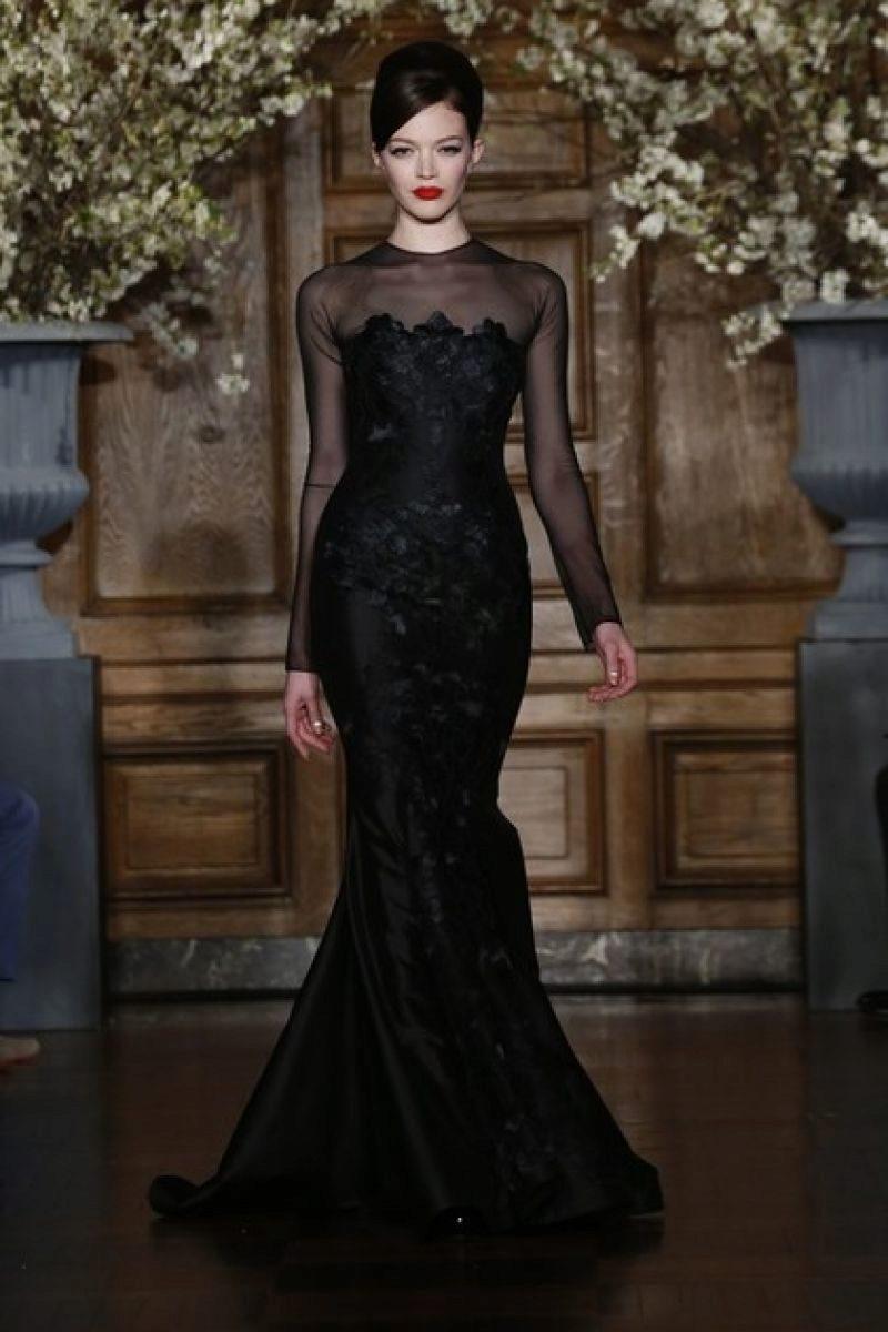 edad637bb44 Romona Keveza свадебное черное платье