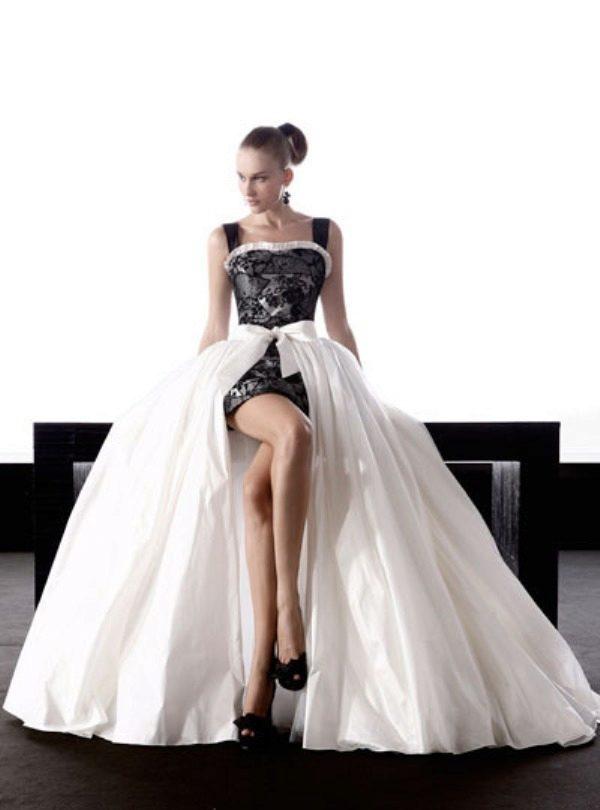 Фото черно белое свадебное платье