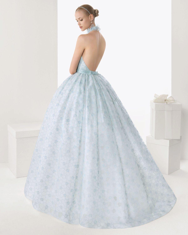 Каталог свадебных платьев голубых тонов