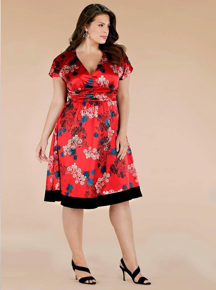 e21337895ec Платье с принтом вечернее для 54 размера