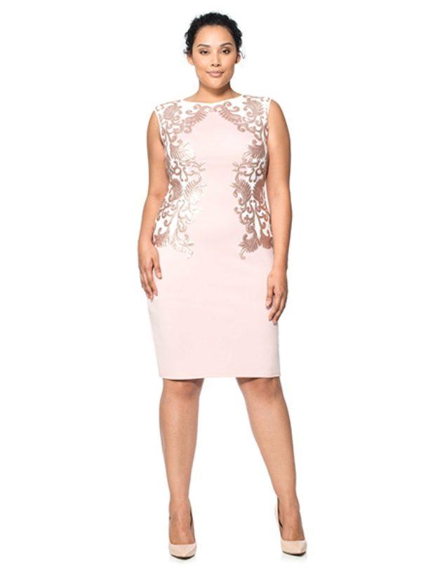e705fd25b39 Вечернее платье для полных светлое
