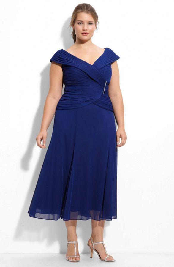 ec544fc7837 Вечернее платье миди для 52 размера
