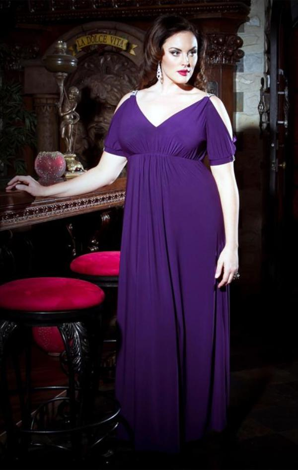 Модель вечернего платья 54 размера