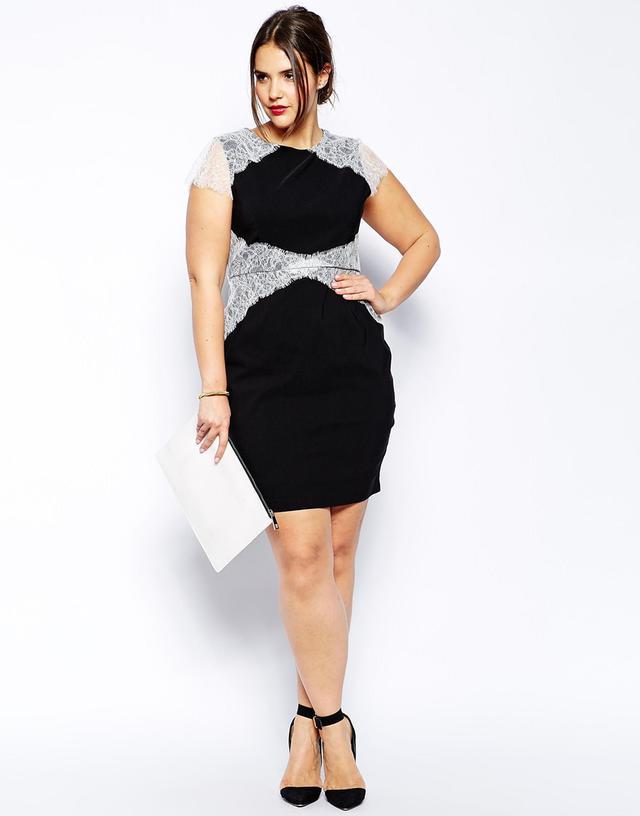 0fa06d7826e Вечернее платье с белым кружевом для 52 размера