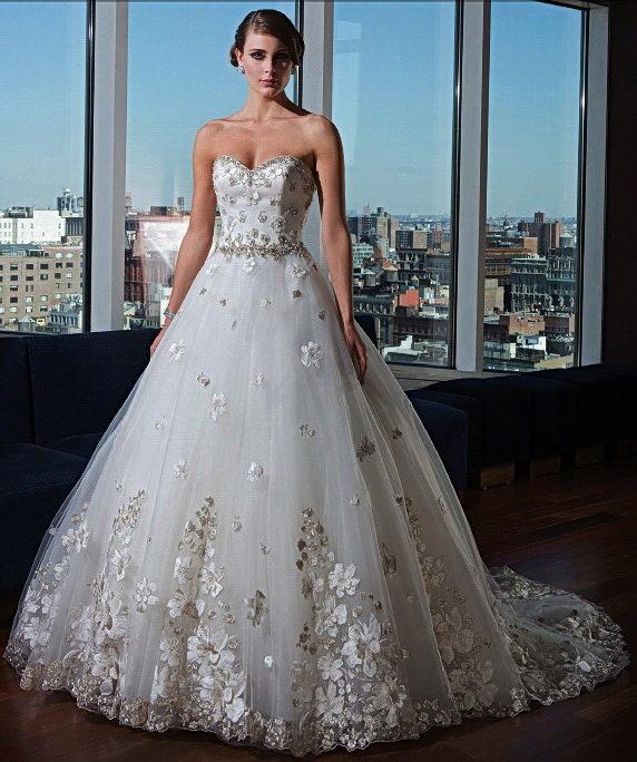Фото дорогие свадебные пышные платья
