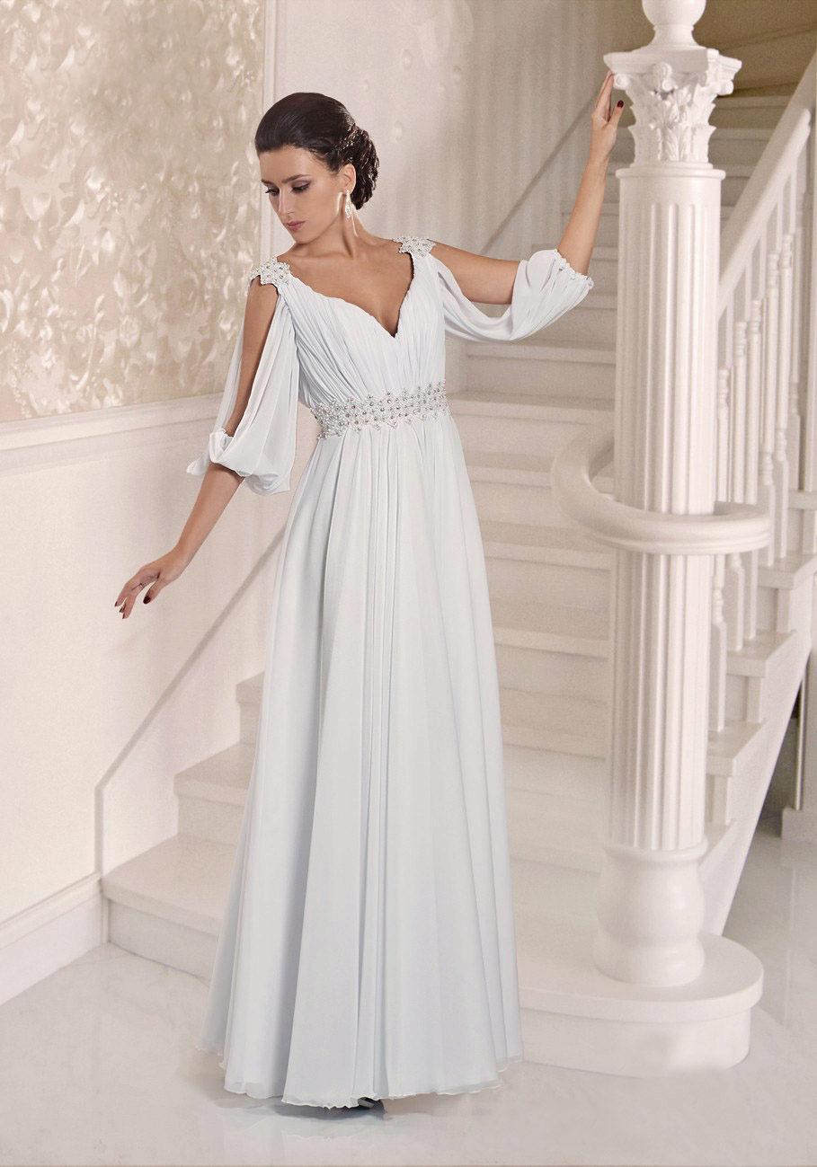 Свадебные цветные платья недорого