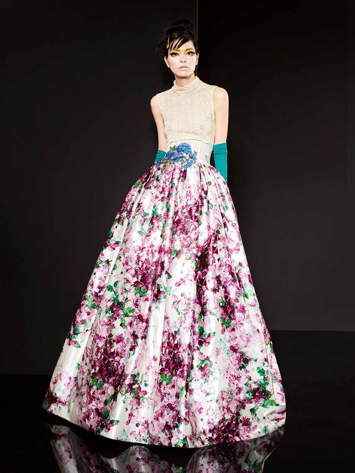 Ткани кружевные для вечерних платьев фото