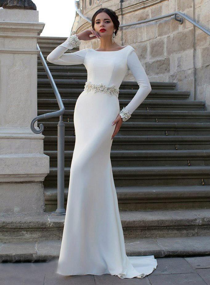 Элегантные кружевные свадебные