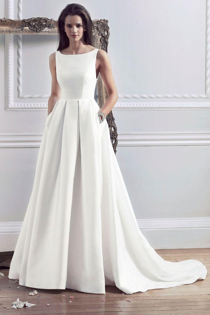 Самые изящные свадебные платья